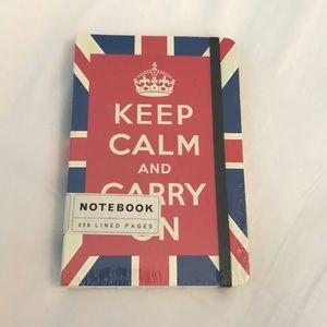 Accessories - Keep Calm And Carry On Lined Journal